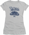 Back To The Future juniors t-shirt Gigawatts silver