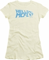 Back To The Future juniors t-shirt Hello Mcfly cream