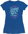 Back To The Future juniors t-shirt Under The Sea royal
