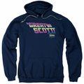 Back To The Future pull-over hoodie Great Scott adult navy