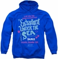 Back To The Future pull-over hoodie Under The Sea adult royal blue