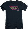 Back To The Future slim-fit t-shirt Great Scott mens navy