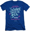 Back To The Future slim-fit t-shirt Under The Sea mens royal