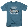 Back To The Future t-shirt 8 Bit Future mens slate