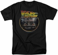 Back To The Future t-shirt Back mens black