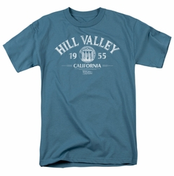 Back To The Future t-shirt Hill Valley 1955 mens slate