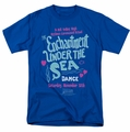 Back To The Future t-shirt Under The Sea mens royal