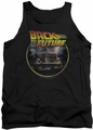 Back To The Future tank top Back mens black