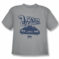 Back To The Future youth teen t-shirt Gigawatts silver