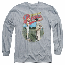 Bad News Bears adult long-sleeved shirt Vintage heather
