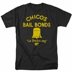 Bad News Bears t-shirt Chico's Bail Bonds mens black