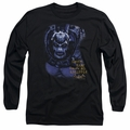 Bane adult long-sleeved shirt Arkham Asylum black