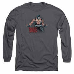 Bane adult long-sleeved shirt Flex charcoal