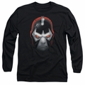 Bane adult long-sleeved shirt Head black