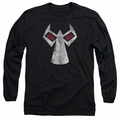 Bane adult long-sleeved shirt Mask black