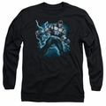 Bane adult long-sleeved shirt Stormy black