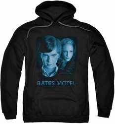 Bates Motel pull-over hoodie Apple Tree adult black