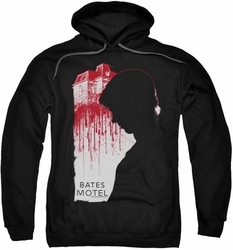 Bates Motel pull-over hoodie Criminal Profile adult black