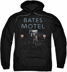 Bates Motel pull-over hoodie Motel Room adult black