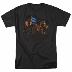 Bates Motel t-shirt Cast mens black