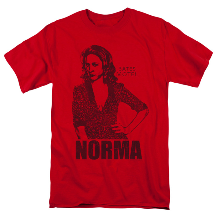 Bates Motel t-shirt Norma mens red