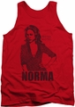Bates Motel tank top Norma mens red