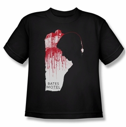 Bates Motel youth teen t-shirt Criminal Profile black