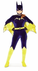 Batgirl Blue Velvet adult costume