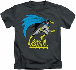 Batgirl kids t-shirt Is Hot charcoal