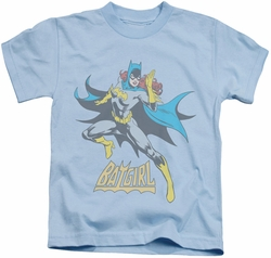 Batgirl kids t-shirt See Ya light blue