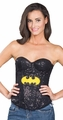Batgirl Sequin Corset Adult costume top