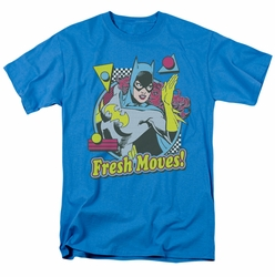 Batgirl t-shirt Fresh Moves mens turquoise
