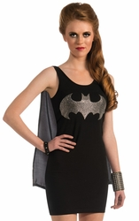 Batgirl Tank Dress adult costume