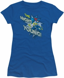 Batgirl The Night is Young DC Originals juniors t-shirt
