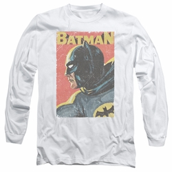 Batman 1966 Classic TV Series adult long-sleeved shirt Vintman white