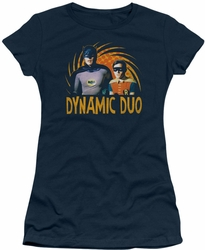 Batman 1966 TV Series juniors t-shirt Dynamic navy