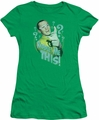 Batman 1966 TV Series juniors t-shirt Riddle Me This kelly green