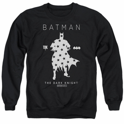 Batman adult crewneck sweatshirt Star Silhouette black