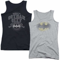 Batman adult Juniors Tank Tops