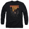 Batman adult long-sleeved shirt Always On Call black