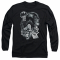 Batman adult long-sleeved shirt Archenemies black
