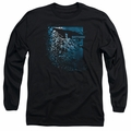 Batman adult long-sleeved shirt Bat Among Bats black