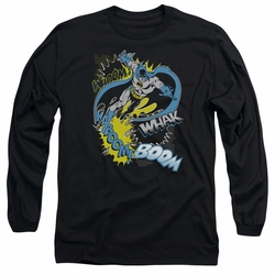 Batman adult long-sleeved shirt Bat Effects black