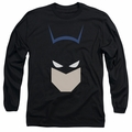 Batman adult long-sleeved shirt Bat Head black