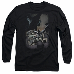 Batman adult long-sleeved shirt Batman #1 black