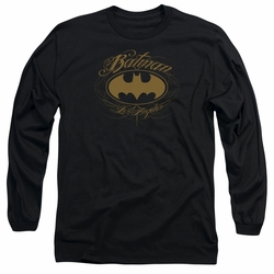 Batman adult long-sleeved shirt Batman L.A. black
