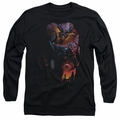 Batman adult long-sleeved shirt Batman & Robin #1 black