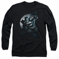 Batman adult long-sleeved shirt Batman Spotlight black
