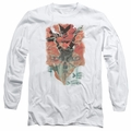 Batman adult long-sleeved shirt Batwoman #1 white