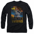 Batman adult long-sleeved shirt Dark Knight Returns black